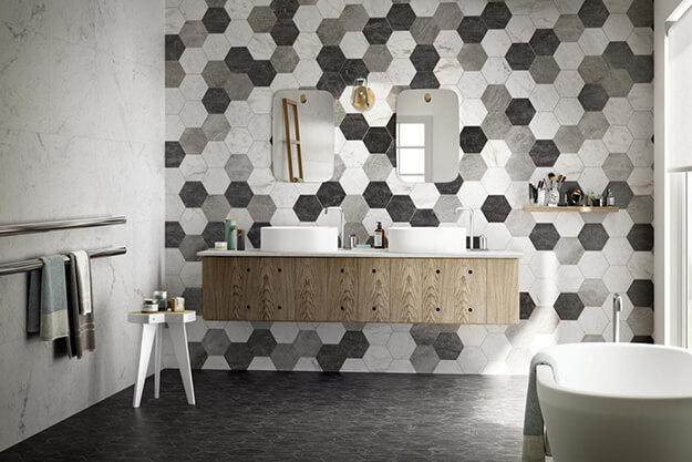 Tegels Keuken Honingraat : Hexagon tegels weer helemaal trendy lingen keramiek