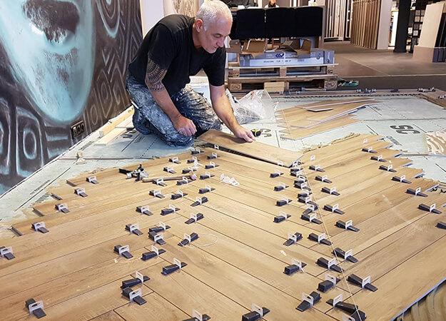 keramische houtlook tegels