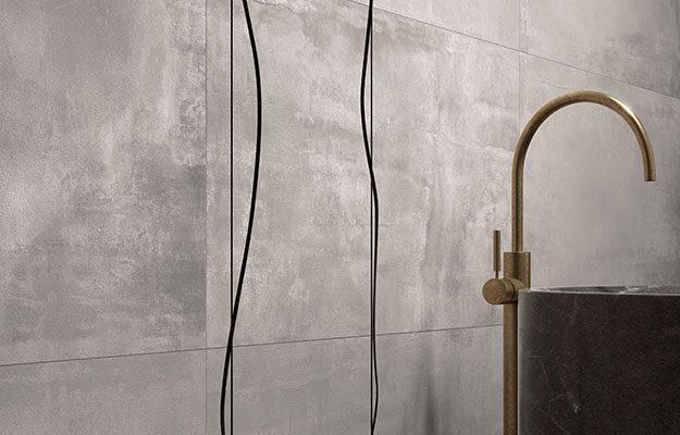 Tegels Badkamer Rotterdam : Keramische betonlook tegels voor een stoere industriële sfeer