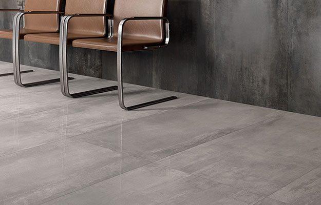 Taupe Tegels Badkamer : Keramische betonlook tegels voor een stoere industriële sfeer