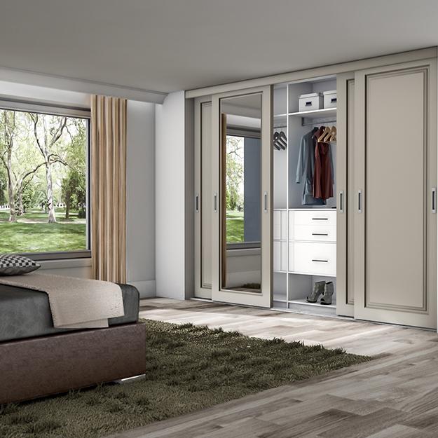 4 deurs schuifdeurkast slaapkamer op maat