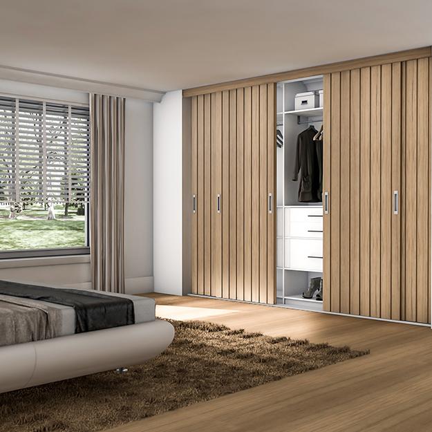 schuifdeurkast klassiek slaapkamer op maat