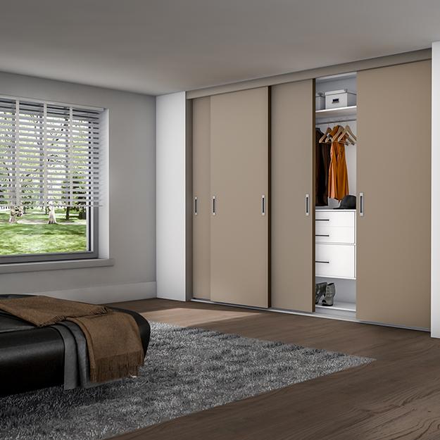 slaapkamer schuifwandkast op maat