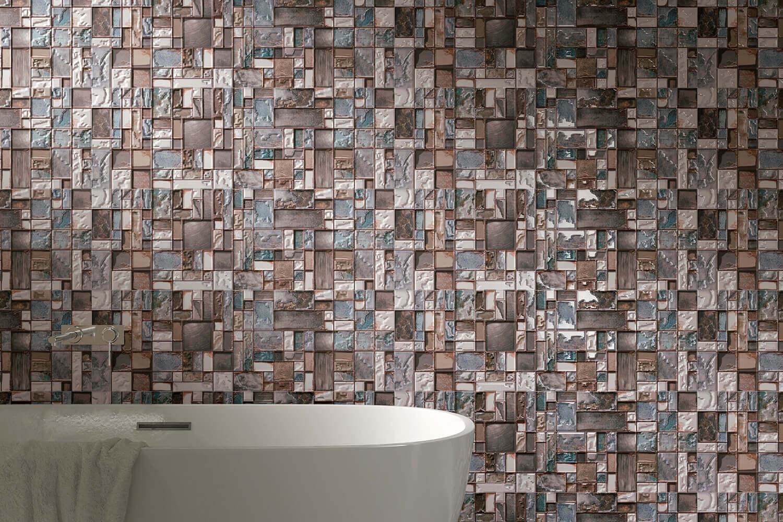 mozaiek tegels badkamer