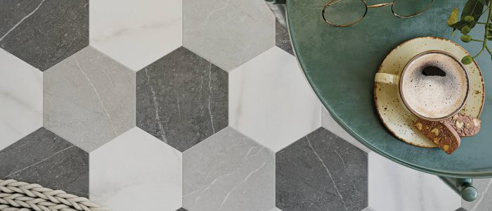 hexagon tegels