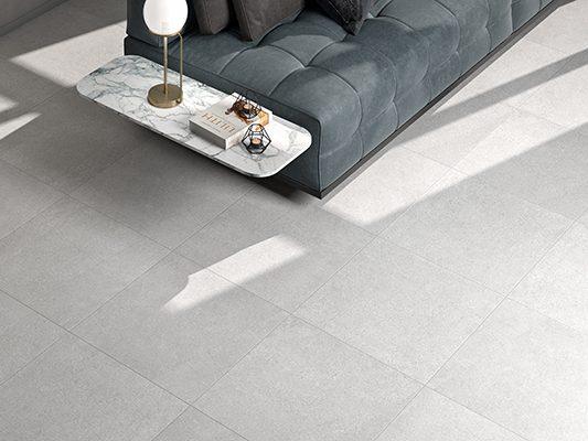 betonlook tegelvloer woonkamer